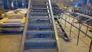 Лестничные площадки, марши, ступени по типу серии 1.450.3-7.94(Тел. +7 (343) 207-36-99, Изготовление, производство: Лестничные металлические площадки, марши, ступени, стремянки...., 2014-04-11T04:56:48.000Z)