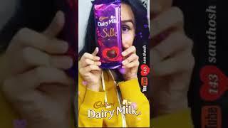 unna enaku romba pidikum solluratha kelu song whatsapp status/ dairy milk/full screen/ 143 santhosh