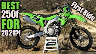 Most improved dirt bike  -- 2021 KAWASAKI KX250