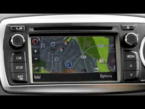 Toyota Touch Amp Go How To Use Sat Nav Features YouTube