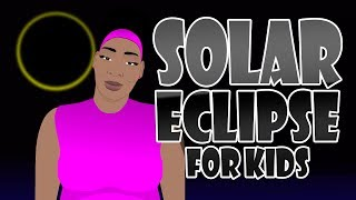 What is a solar eclipse for kids (Total, Partial, Annular)? Educational Video for Students