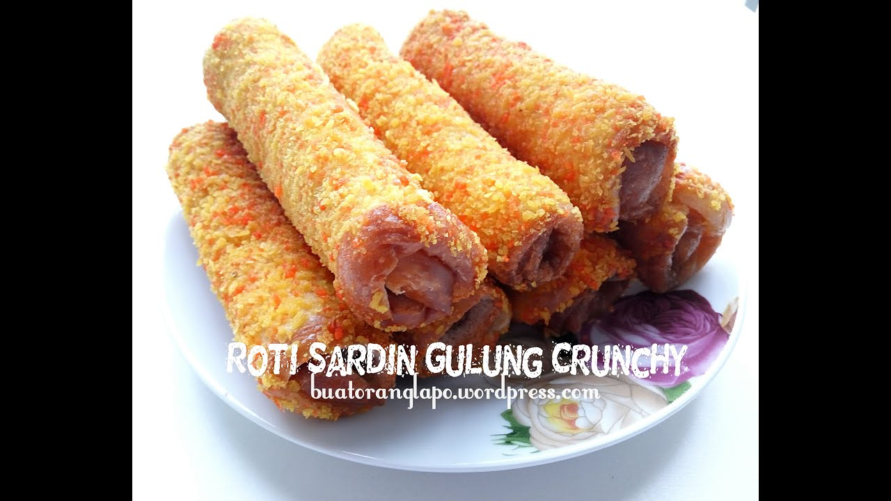 Sardine Crunchy Roll Recipe - buatoranglapo.wordpress.com - YouTube