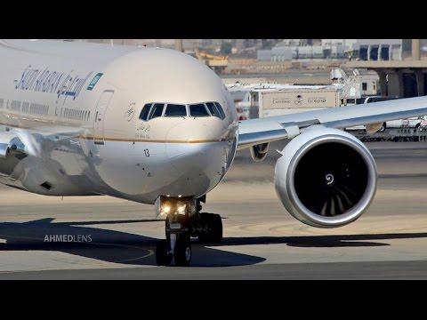 Air Traffic at Jeddah Airport #3 | مطار الملك عبدالعزيز - جدة