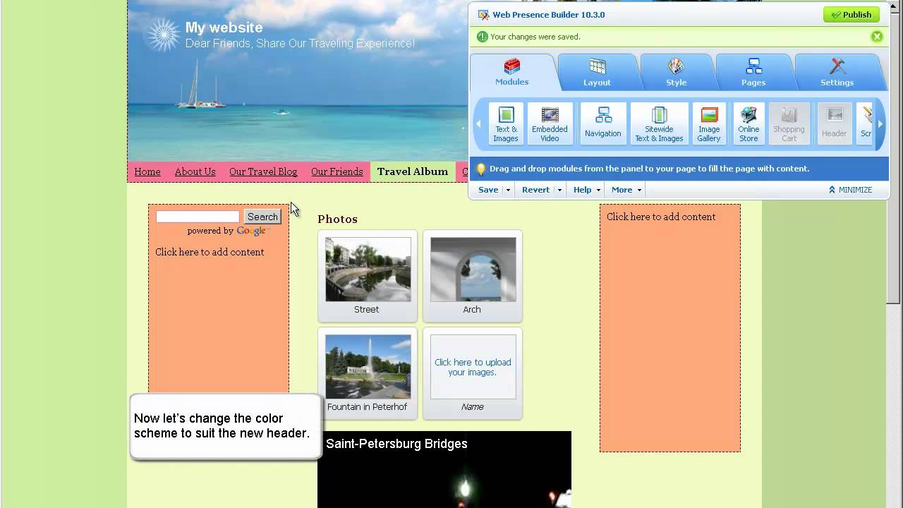 Parallels Web Presence Builder: Getting Started Video Tutorial ...