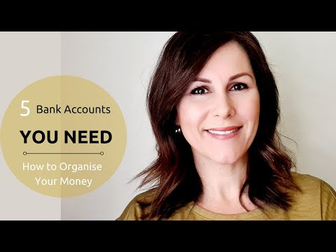 5 Bank Accounts You Need in 2021   How to organise your money!