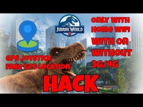 jurassic world alive gps location spoofing hack .ipa