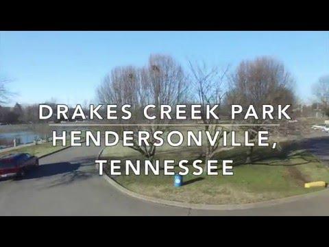 Hendersonville Tennessee Drakes Creek Park Drone Footage