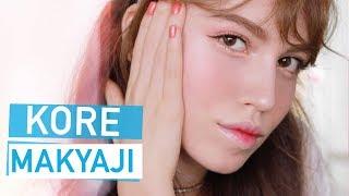 Kore Tarzı Makyaj | K-Pop Şarkıcısı Olmayı Denedim!