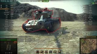 Т-54 перший зразок, Ель-Халлуф, Стандартний бій