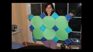 Archimedean polyfelt, semiregular tessellations, and many more
