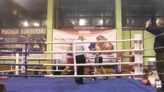 Borys Porębski Górnik Sosnowiec vs Kamil Kuździeń Start Częstochowa waga 75 kg