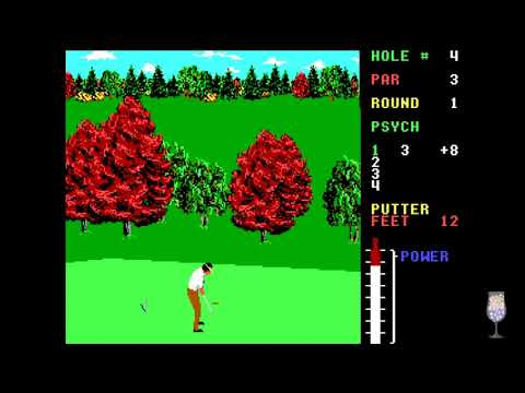 MS-DOS Crypt - World Class Leader Board Golf
