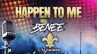 BENEE - Happen To Me (Karaoke Version)