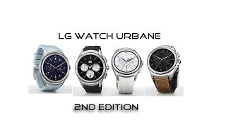 LG Watch Urbane 2nd Edition - Android Wear smartwatch with LTE