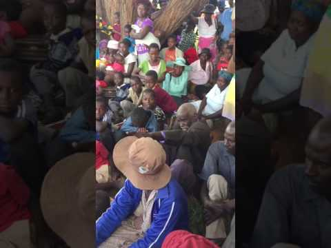 Kasukuwere speaks to Tsholotsho villagers