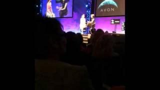 Yasmin le Bon at the Avon World Tour UK