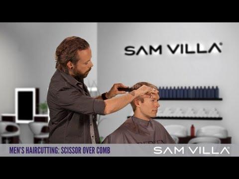 Men's Haircutting: Scissor Over Comb Technique