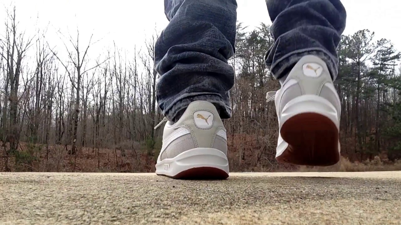 Puma G Vilas 2 Core on Feet - YouTube 691cd7822
