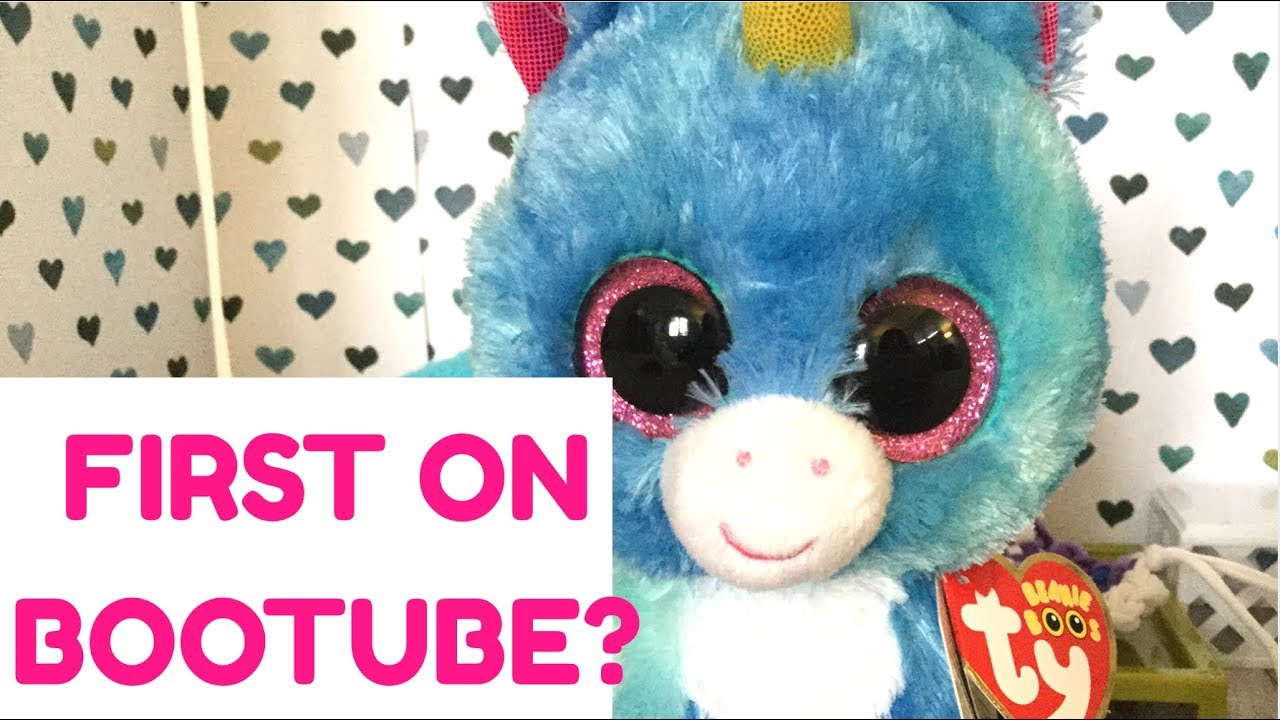 I GOT THE BEANIE BOO STITCHES  FIRST ON BOOTUBE !  - YouTube d02e7fd63ecb