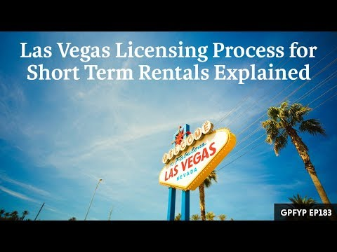 Airbnb Hosting EP 183 Las Vegas Licensing Process for Short Term Rentals Explained