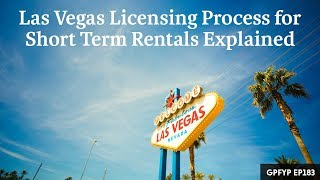 Gambar cover Airbnb Hosting EP 183 Las Vegas Licensing Process for Short Term Rentals Explained