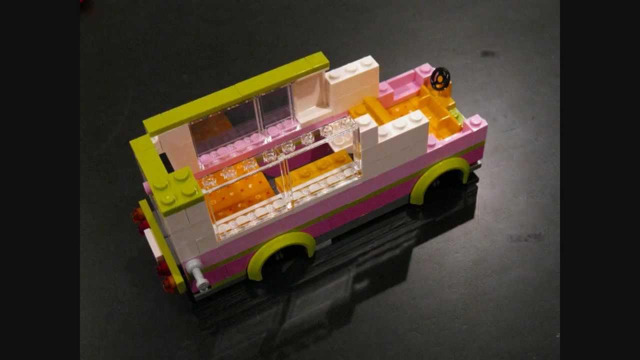 hd building lego friends 3184 adventure camper youtube. Black Bedroom Furniture Sets. Home Design Ideas