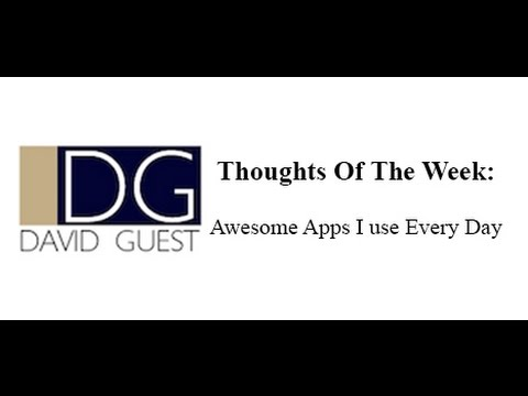 Awesome Apps I Use Every Day | Outcomes Business Group