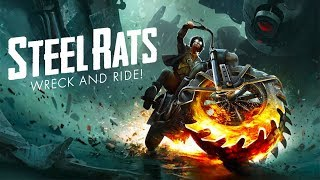 Steel Rats - Gameplay ( Motorbike Combat Game ) PS4 / PC / Xbox One