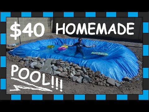 DIY Pool!!! // $40 Homemade swimming Pool!!!