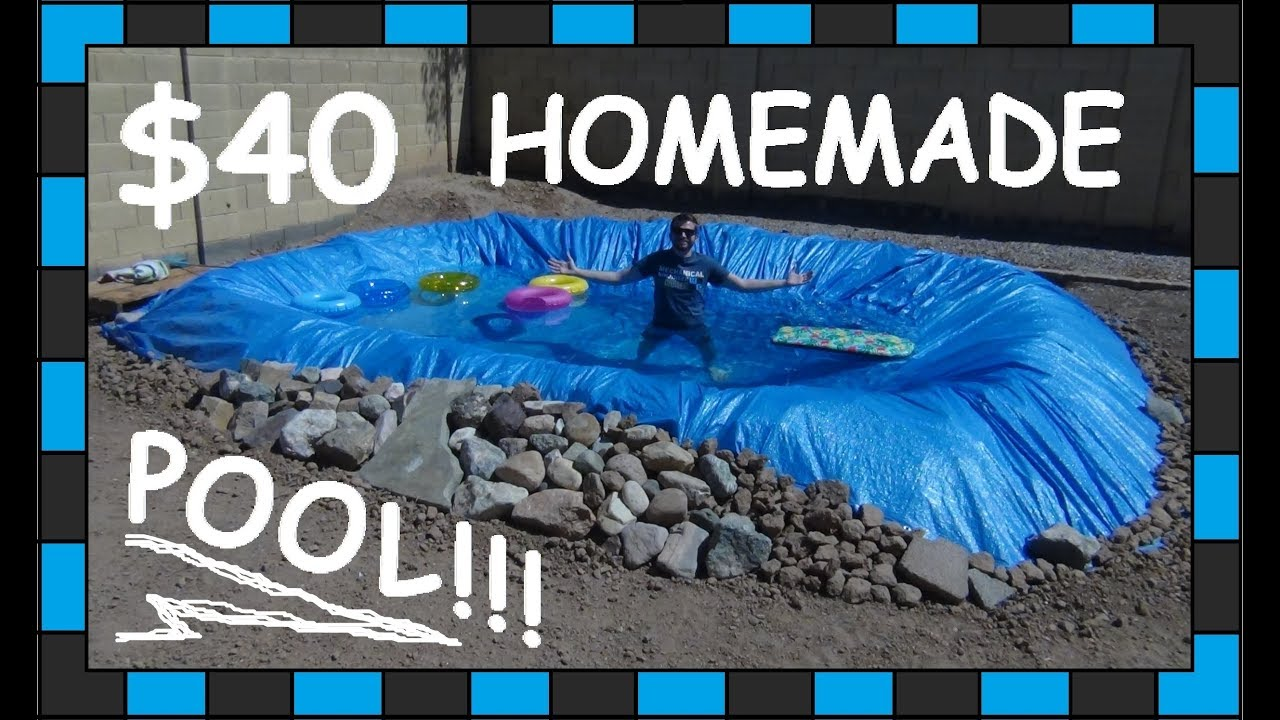 Diy Pool 40 Homemade Swimming Pool Youtube