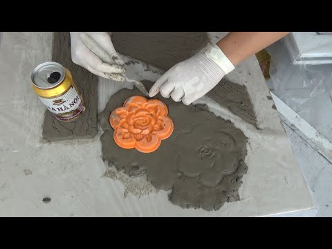 DIY - New Great Ideas With Cement || Beautiful cement crafts