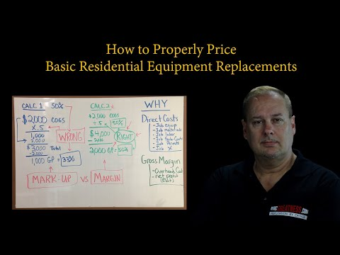 HVAC Pricing Method (Basic) For Equipment Replacement