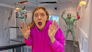 Pond Monster Caught Sneaking into Attic to Destroy Sharer Family House!!! (THEY ARE TAKING OVER)