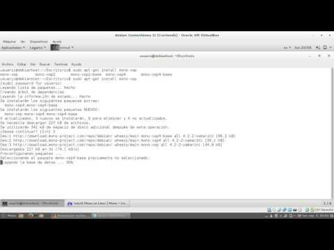 Instalación y uso interactivo de xsp