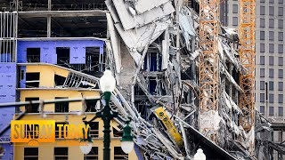 Hard Rock Hotel Construction In New Orleans Collapses | Sunday TODAY