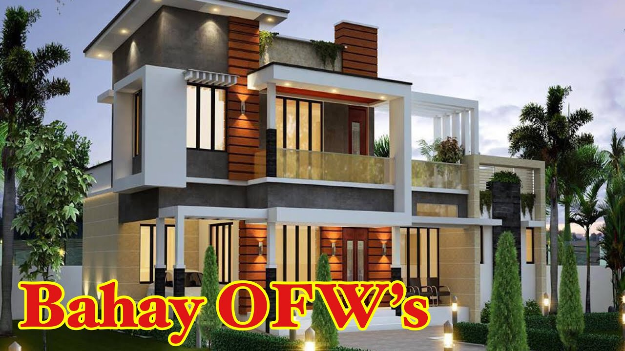Top 50 Two Storey Houses In The Philippines 2020 Ofw Houses Designs Youtube