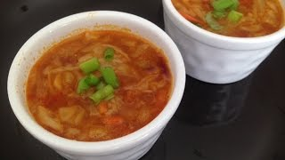 Cabbage Soup Recipe | Soup of The day