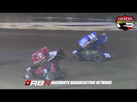 Highlights from Lucas Oil ASCS Fall Brawl at Creek County Speedway in Sapulpa, OK on Sat. October 12, 2019. - dirt track racing video image