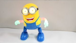 Dancing Minion Toy - Will Try To Convert it into Dancing Pikachu !!