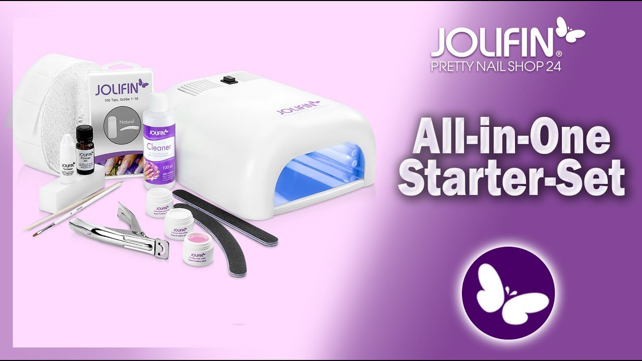 Jolifin All-in-One Starter-Set 4plus - YouTube