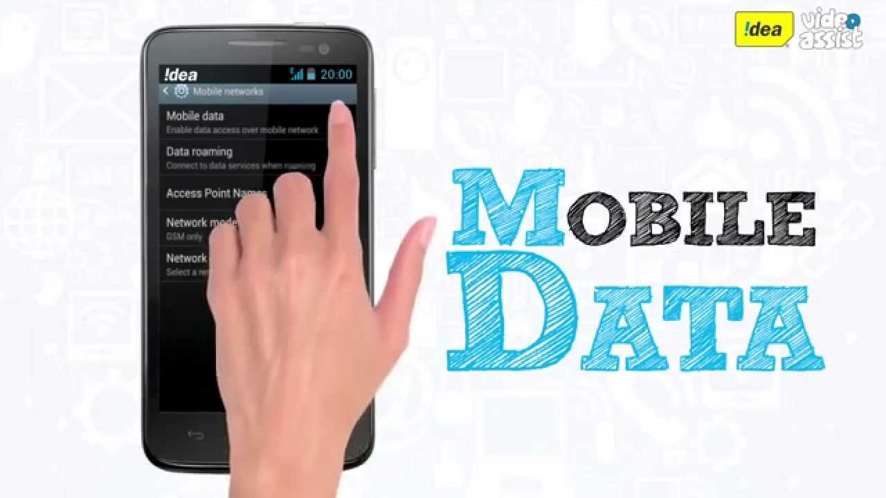 How To Turn On Off Mobile Data Youtube Mito A700 Android Kitkat