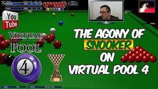 Virtual Pool 4 | Snooker Match | A Very Close Match | Mal255 vs Curley