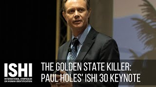 The Golden State Killer - Ishi 2019 Keynote