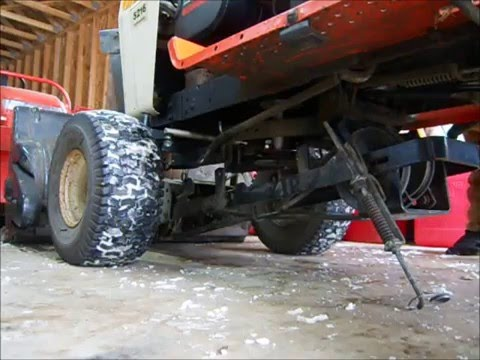 Simplicity snow blower install - YouTube
