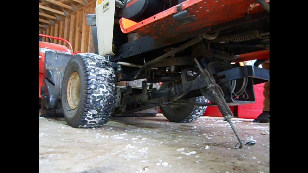 medium resolution of simplicity snow blower install