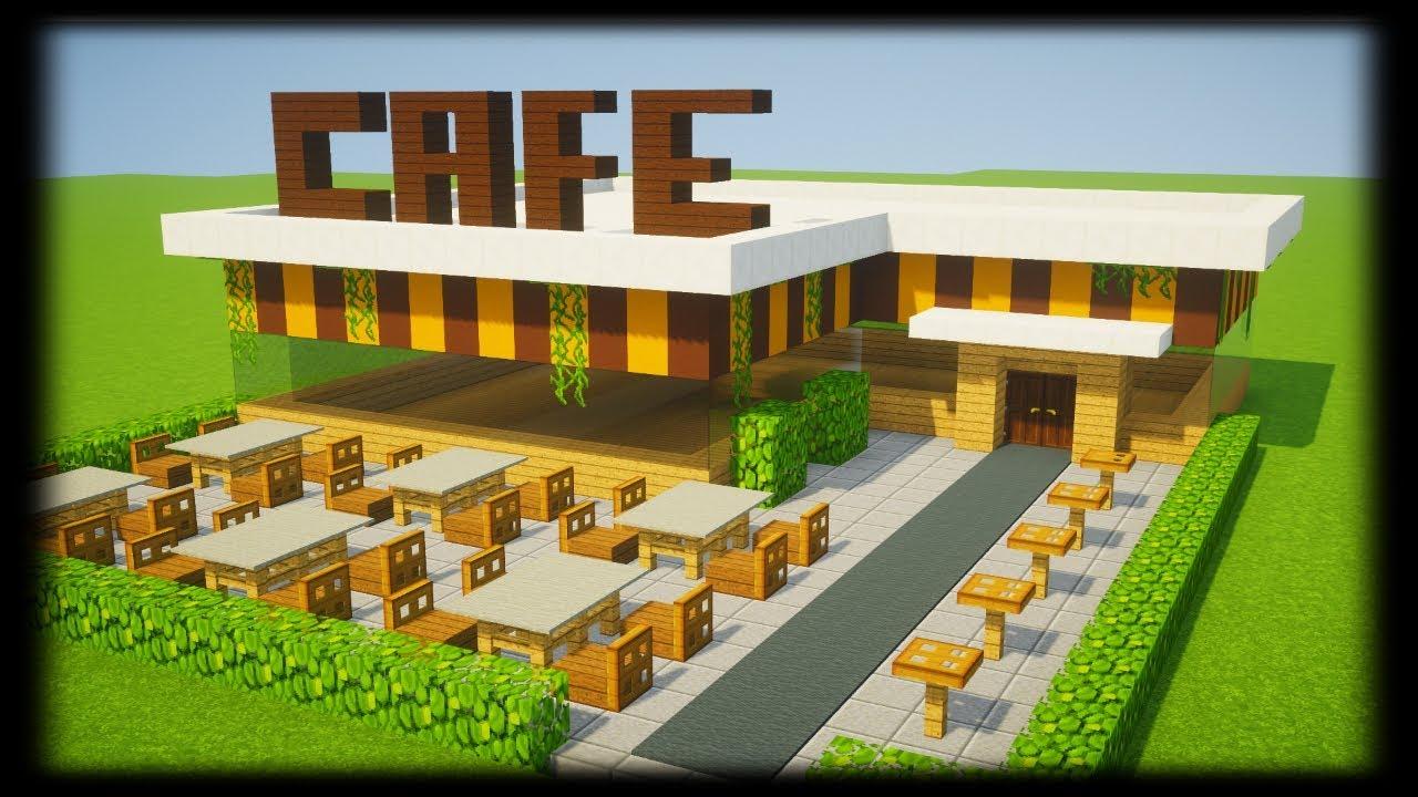 Tuto Brasserie Cafe Minecraft смотреть видео бесплатно