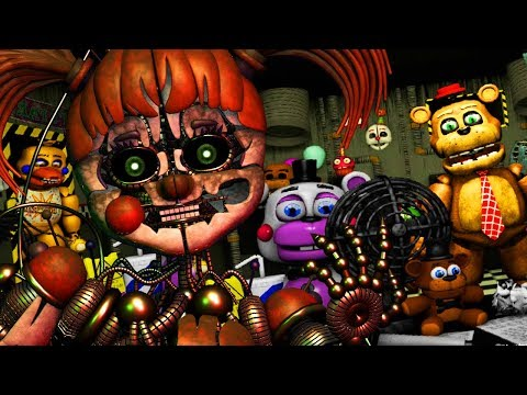 CAN WE SURVIVE THE ULTIMATE CUSTOM NIGHT?! | Five Nights at Freddys ULTIMATE Custom Night (Fan Made)