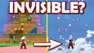 Super Mario 3D World but I made the floor invisible in EVERY LEVEL! [Super Mario 3D World mod]