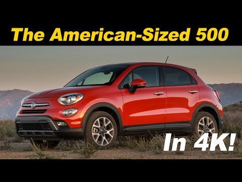 2017/2018 Fiat 500x Review and Road Test In 4K UHD!