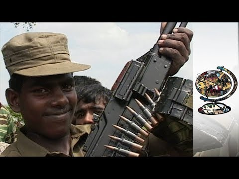 Tamil Tiger Guerrillas
